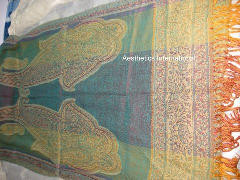 Silk Printed Jamawar Shawls