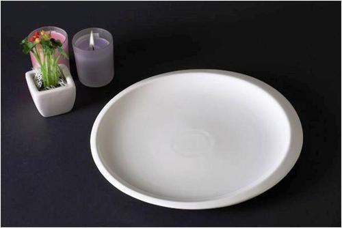Round Dinner Ceramic Plate