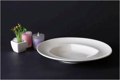 Round Deep ceramic Plate