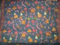 Silk Embroidery shawls