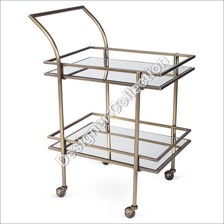 Metal Table With Trolley