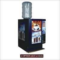 Hot and Cold Coffee Vending Machine