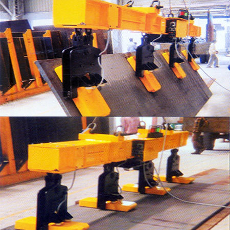 Electro Permanent Magnetic Tilting Plate Handling Equipment