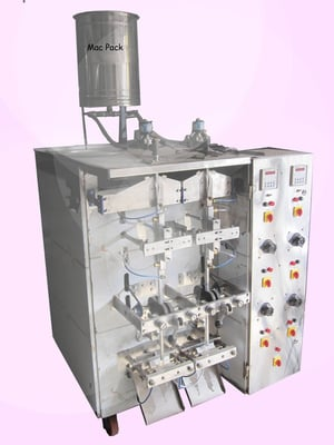 Double Head Liquid Lime , Emlee & jelly Pouch packing Machine