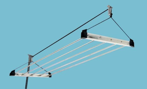 SS Clothes Drying Ceiling Rack