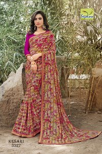 Designer Party Wear Braso Sarees
