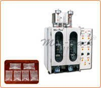 Double Head synthetic Juice Pouch Packing Machine
