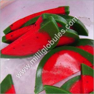 Watermelon Sorbet Slices