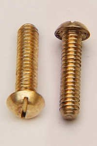 Brass Pan Head Screw