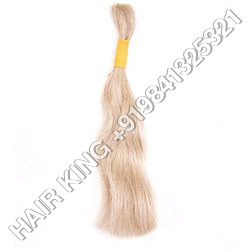 Remy Double Drawn Natural White Hair