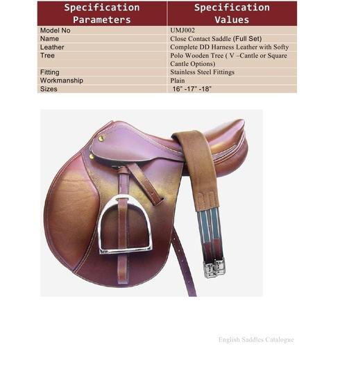 Horse Leather Saddles