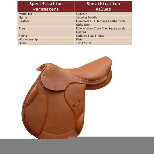 Designer Leather Saddles