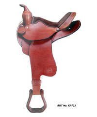 Designer Leather Horse Saddles