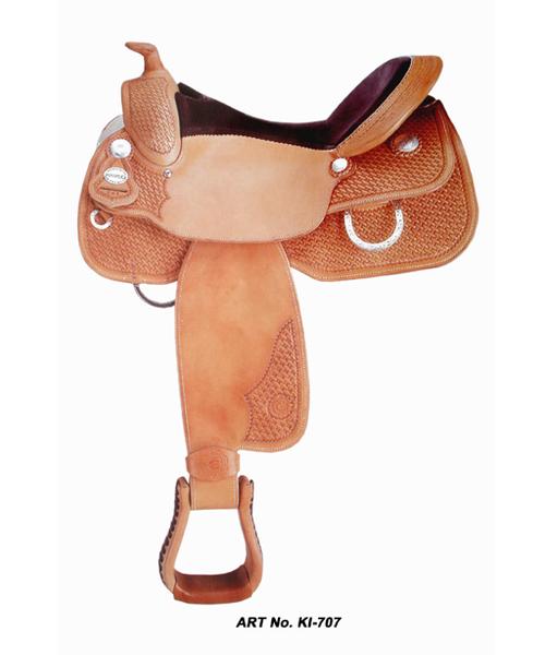 Western Leather Horse Saddles