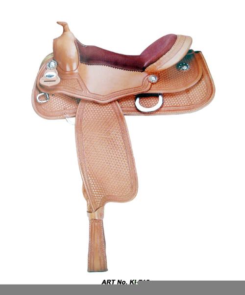 Western Horse Saddle