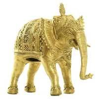 Dhokra Elephant Sculpture