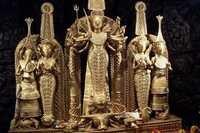 Dhokra Goddess Durga Sculpture