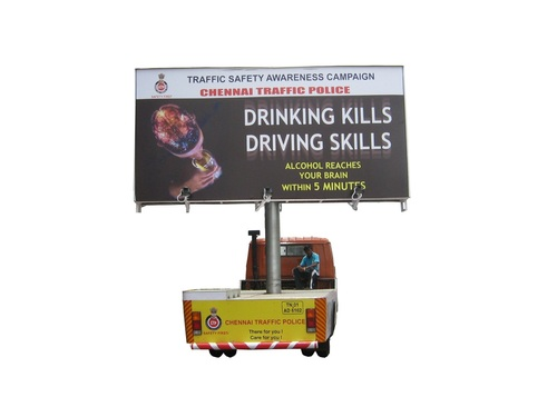 Mobile Hydraulic Advertisement Vehicle