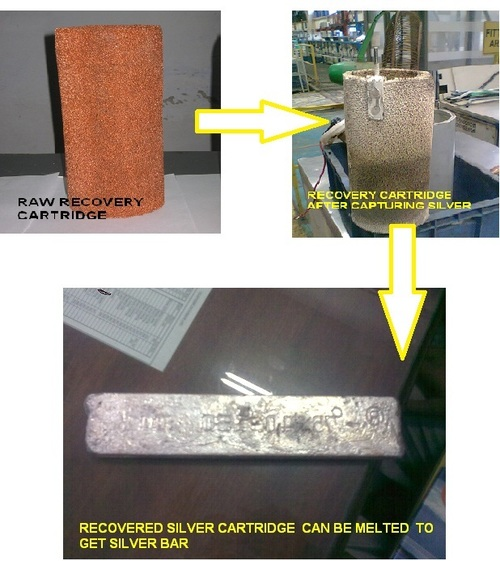 SILVER RECOVERY CARTRIDGE