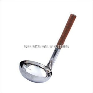 Professional Ladle with Wooden Handle