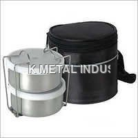 2 Container Tiffin With Pouch