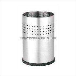 Four Line Perforated Dustbins