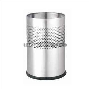 SS Half Round Perforated Dustbins