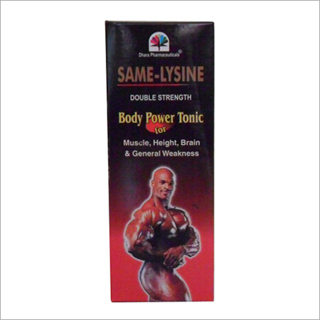 Same Lysine Body Power Tonic