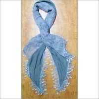 Cotton Printed Plain Scarves