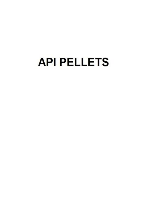 API PELLETS