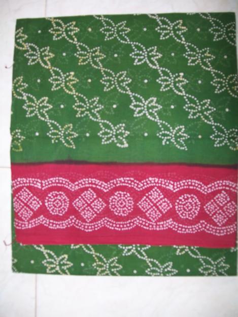 Cotton Sungudi Saris