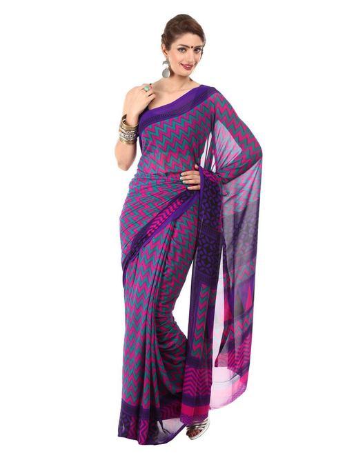 Ladies Printed Cotton Sarees