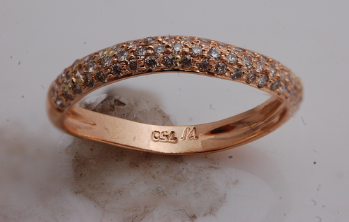 Rose Gold Ring Manufacturer