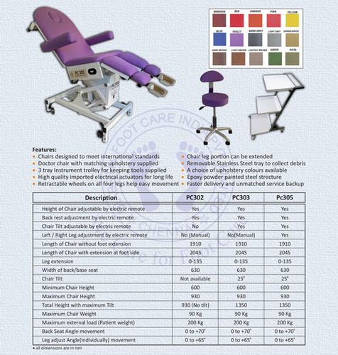 Wound Care Chair