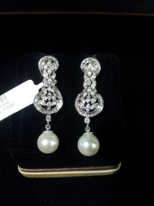 Designer Diamond Ladies Earrings