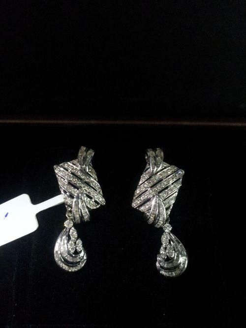Fancy Diamond Ladies Earrings