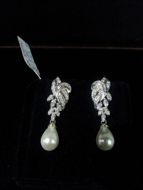 Trendy Diamond Ladies Earrings