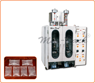 Machinery for liquid pouch filling