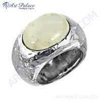 Fashion Accessories Rainbow Moonstone Silver Ring