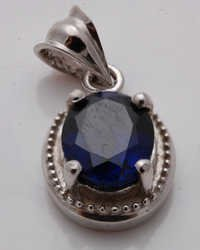 wholesale silver pendant jewelry with gemstones, indian jewelry manufacturer in silver