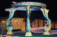 Wedding Peacock Mandap