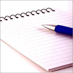 Spiral Writing Pad