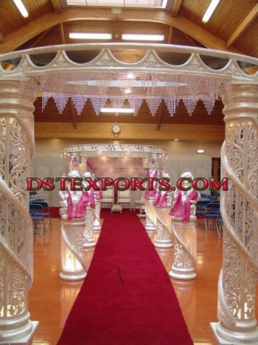 Indian Marriage Crystal Welcome Gate