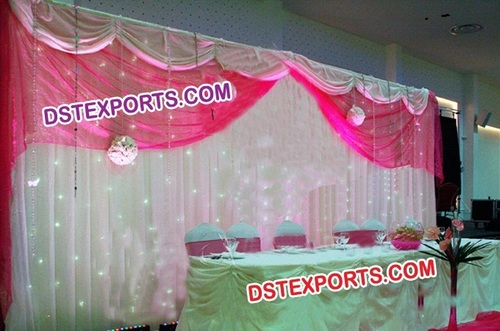 Indian Marriage Stage Backdrop