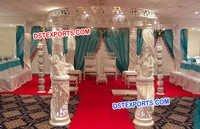 New Style Wedding Crystal Mandap Set