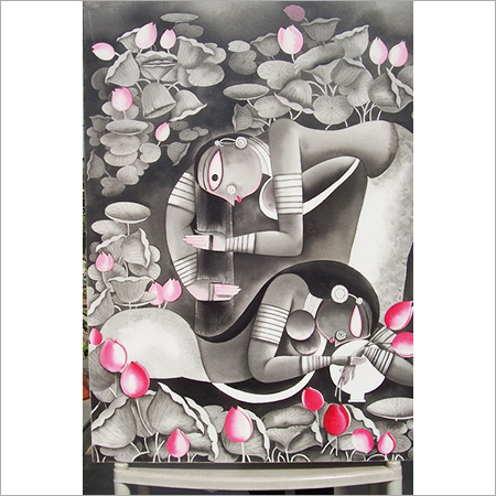 Acrylic Art Paintings