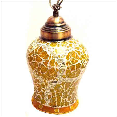 Mosaic Glass Lampshade