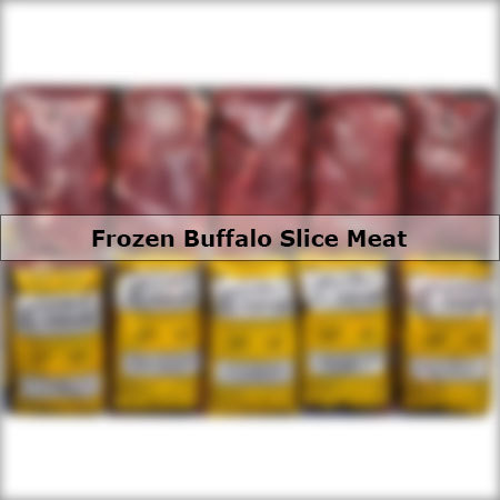 Frozen Buffalo Slice Meat