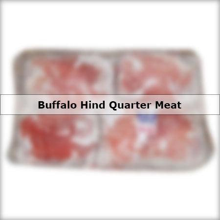 Buffalo Hind quarter Meat