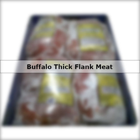 Buffalo Thick Flank Meat
